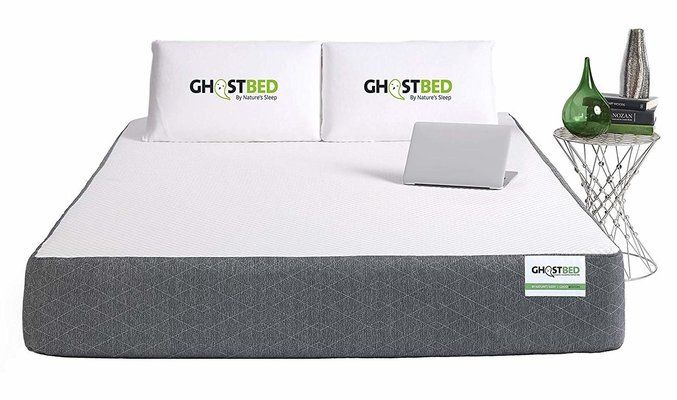 Ghostbed Premium Cooling Memory Foam Rolled Mattress