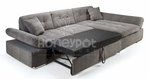 Honeypot Malvi Corner Sofa Bed