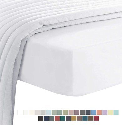 400 Thread Count Cotton King Size Fitted Sheet