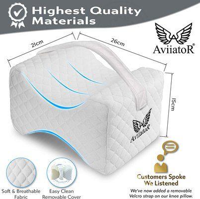 AviiatoR Orthopedic Knee Pillow