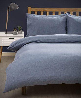 Belledorm Marl Jersey Duvet Cover Set