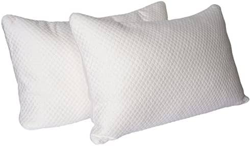 CosyBoo 2 Pack Bamboo Memory Foam Pillows