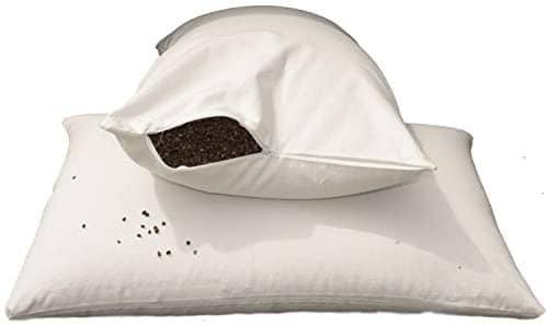 E4Emporium Organic Buckwheat Husk Pillow