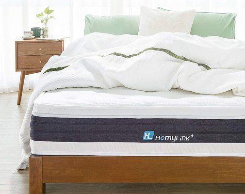 HomyLink Single Mattress, Gel Memory Foam