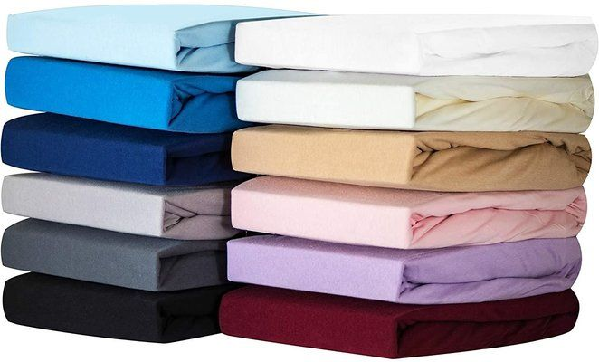 Silky Jersey Fitted Sheets