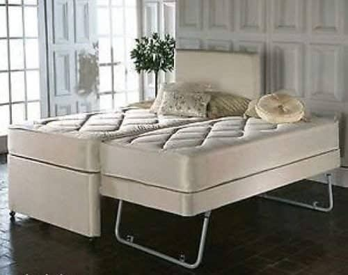3FT SINGLE PULL OUT TRUNDLE DIVAN GUEST BED