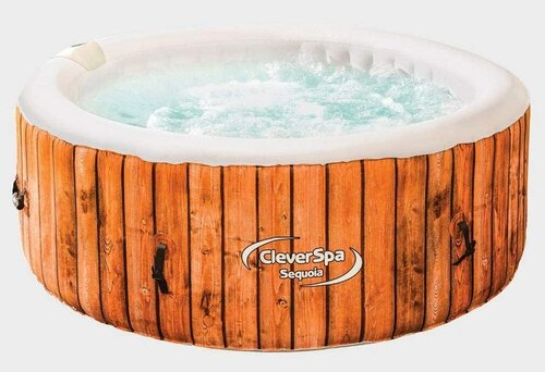 Clever Spa Sequoia 4 Person Inflatable Hot Tub