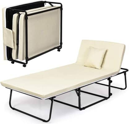 COSTWAY 3-in-1 Folding Sofa Bed