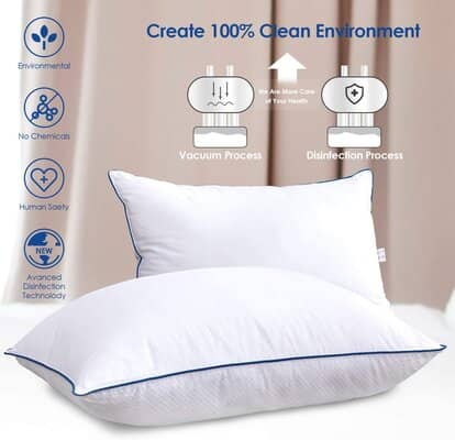 CompuClever Bed Pillows