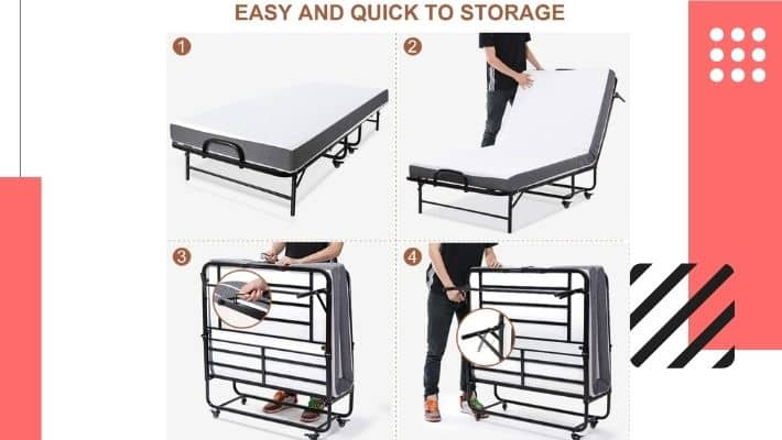 Most Comfortable Folding Bed UK – 2021 Edition