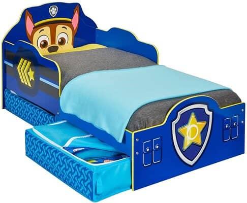 Paw Patrol Chase Toddler Bed